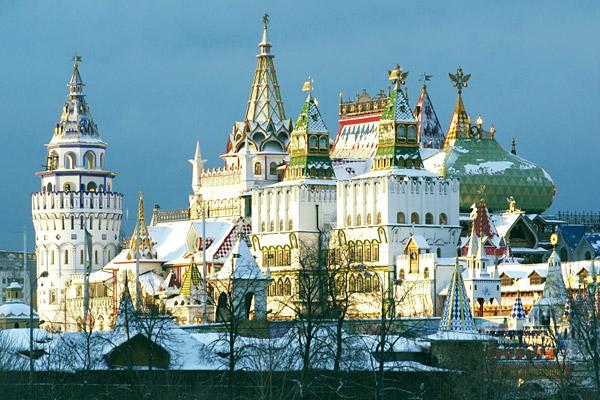 Izmailovo Kremlin, Moscow Russia